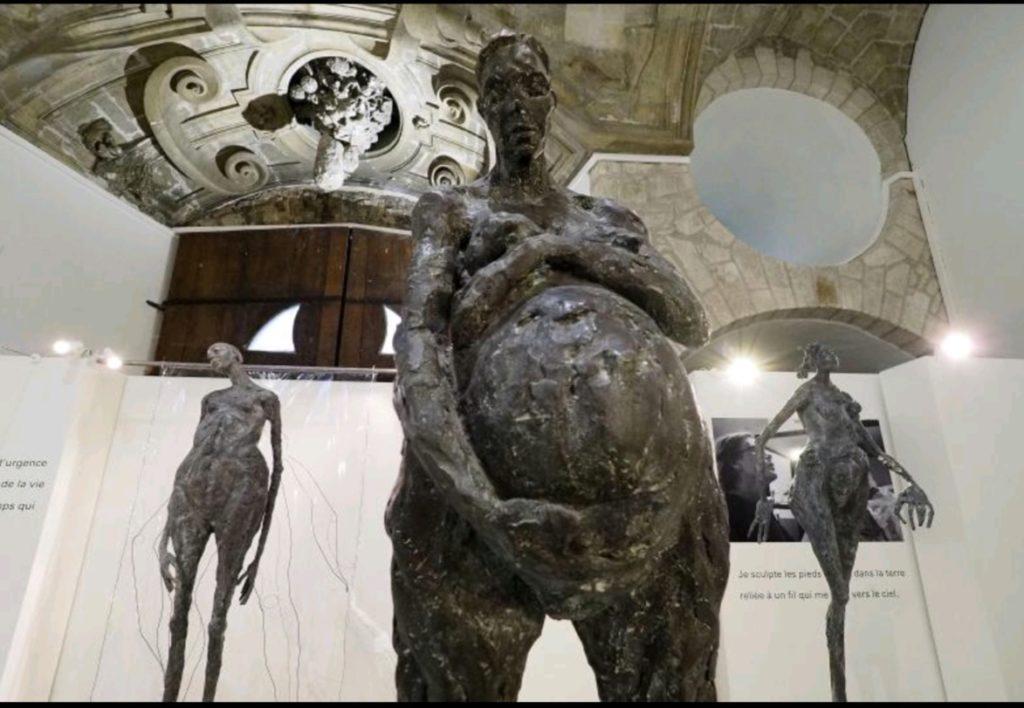 exposition Fem sculptures de Chantal Cheuva